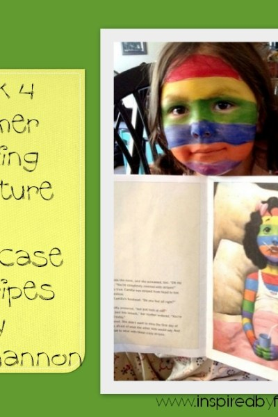 Wk 4 Summer Reading Adventure- A Bad Case of Stripes