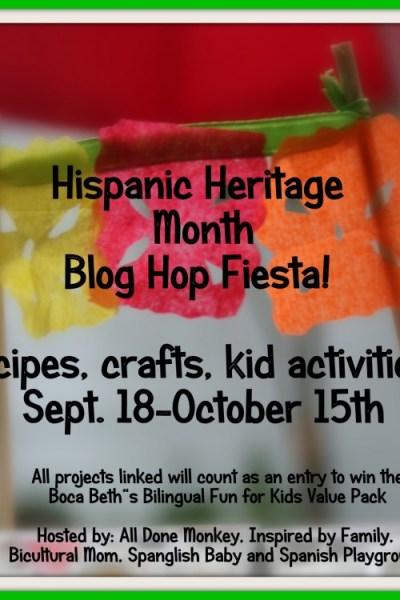Hispanic Heritage Month Blog Hop Fiesta!