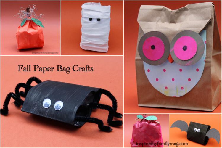 Fall Paper Bag Crafts