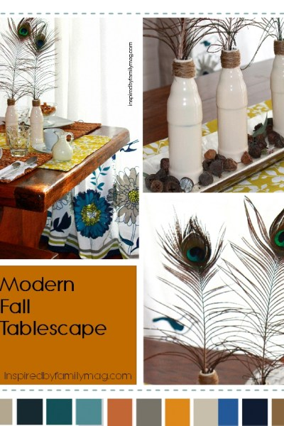 Modern Fall Tablescape on a Budget