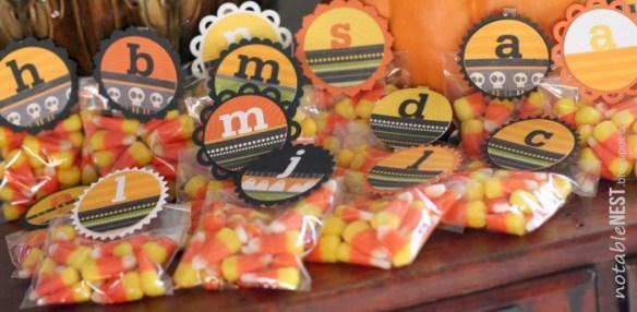 DIY Halloween Treat Toppers