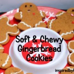 soft and chewy gingerbread cookies