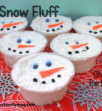 Winter Party Favors: DIY Snow Dough