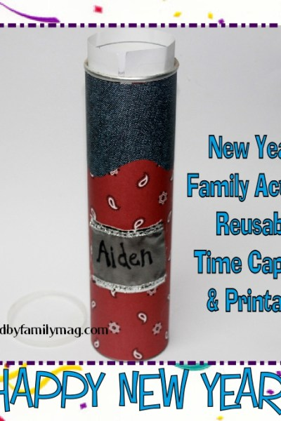 New Year's Family Activity: Simple Time Capsule