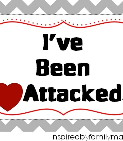"Valentine's Day Printable: ""You've Been Heart Attacked"" Activity"