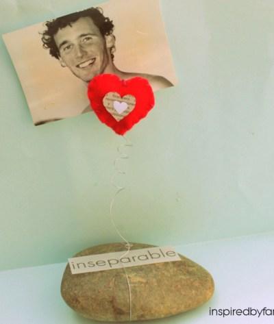 Valentines Day: DIY Picture Holder