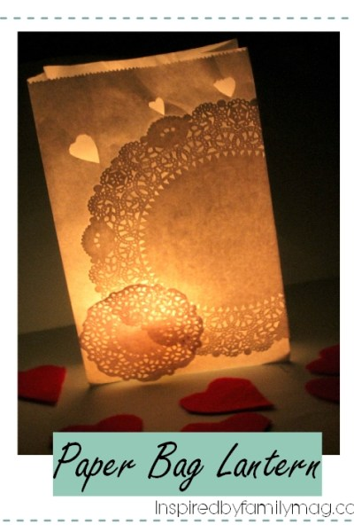 DIY Paper Bag Lanterns