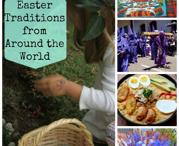 Easter Around the World & Capirotada Recipe {Mexican Bread Pudding}