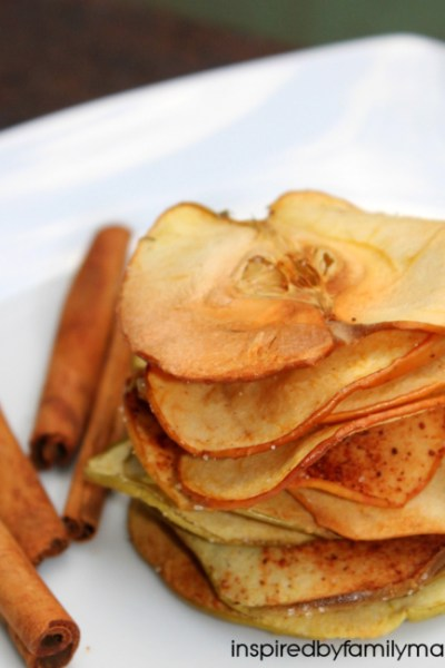 Healthy Snacking: Apple Chips