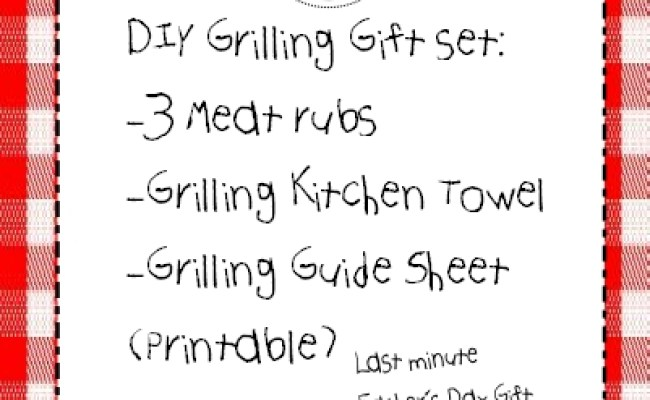 Father S Day Diy Grilling Gift Set Inspired By Family