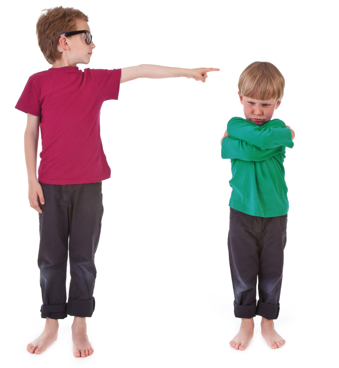 tattling and kids