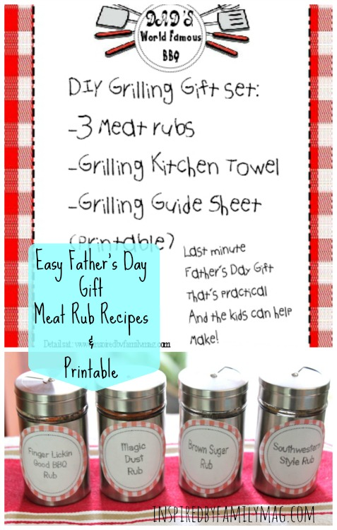 meat rub recipes gift