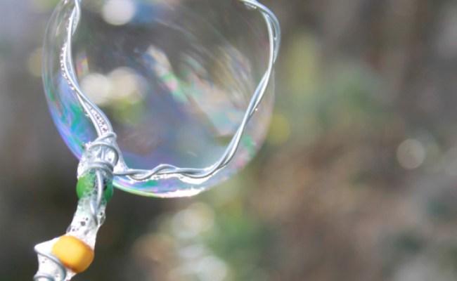 Diy Bubbles Solution Magical Wand Kids Gift Idea