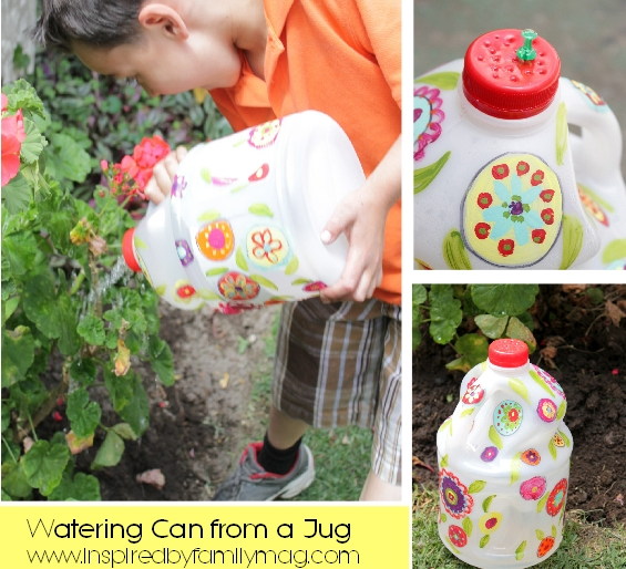 recycled water bottle craft