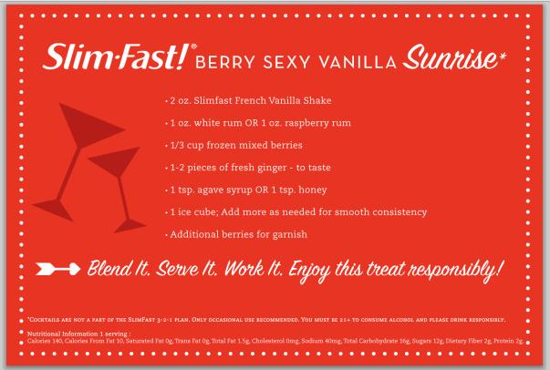 Berry Sexy Vanilla Cocktail Recipe
