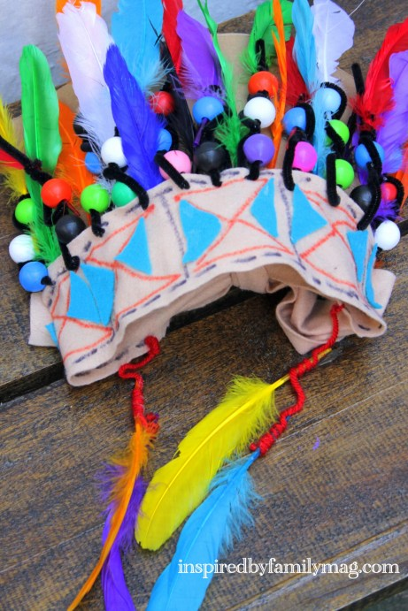 native indian craft for kids