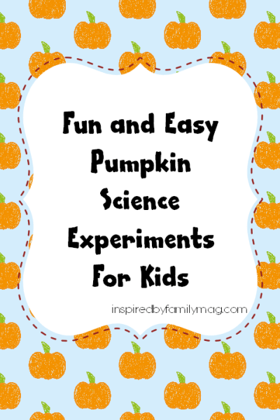 Science Experiments with Pumpkins