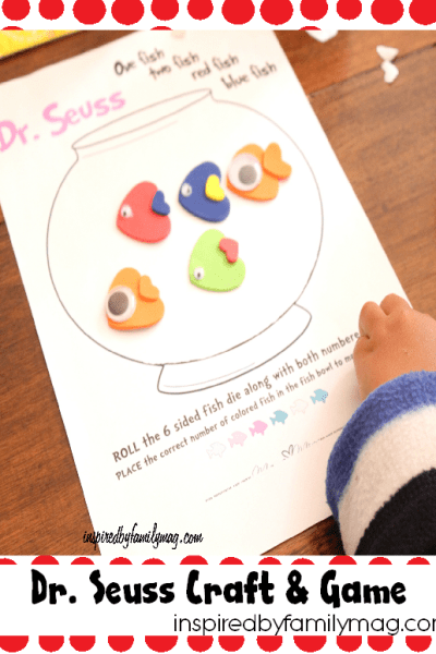Dr. Seuss Counting Activity: One Fish, Two Fish, Red Fish…
