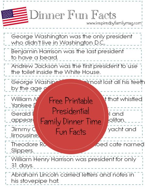 presidential fun facts 1