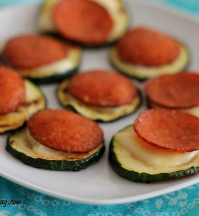 Zucchini Pizza Bites (How to Avoid Soggy Pepperoni Bites)