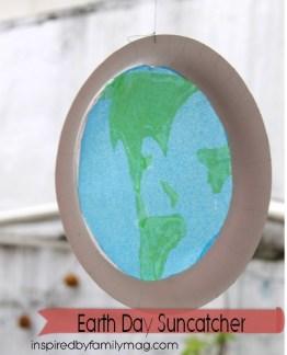 earth day suncatcher