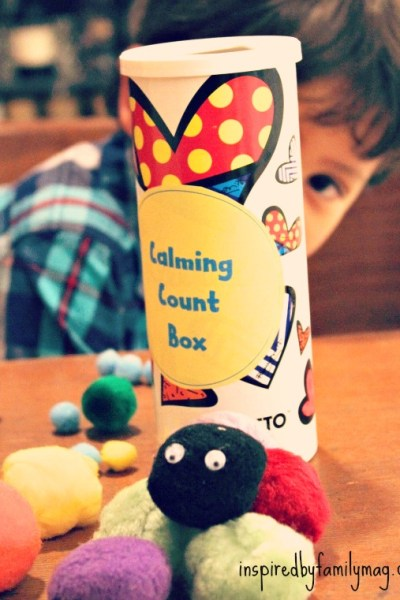 Calming Count Box Activity for Kids