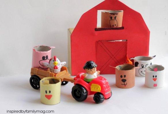 farm animals barn yard craft