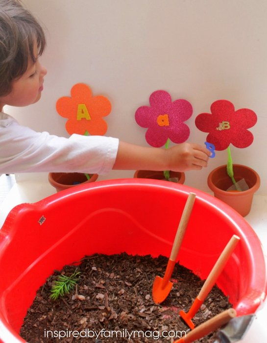 flower alphabet activity