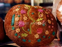 day of the dead bread