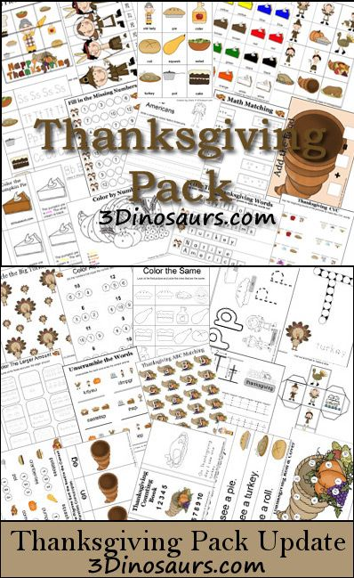 thanksgiving printable pack 2