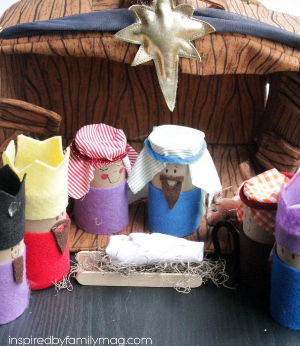 nativity craft for toddlers
