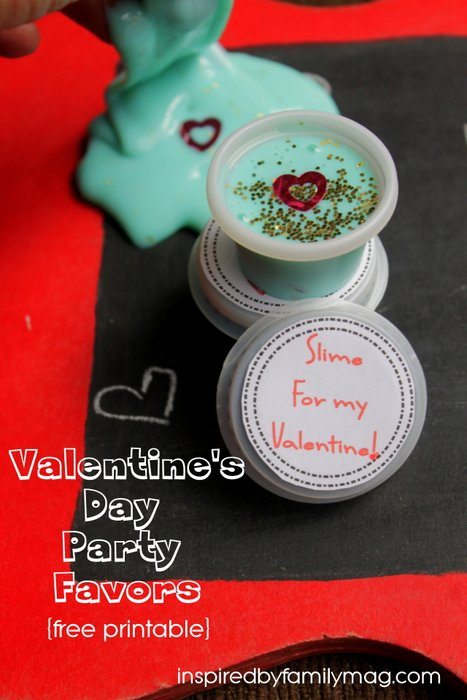 diy valentines day party favors