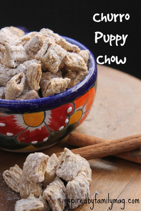 churro puppy chow