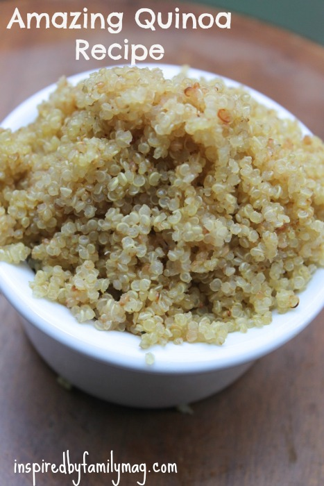 fluffy quinoa recipe