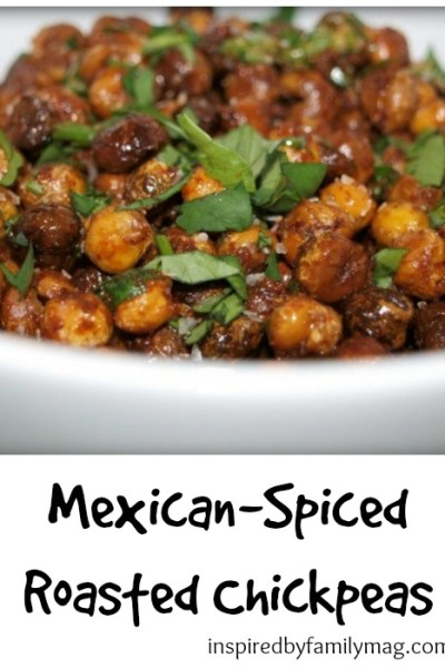 Mexican-Spiced Roasted Chickpeas
