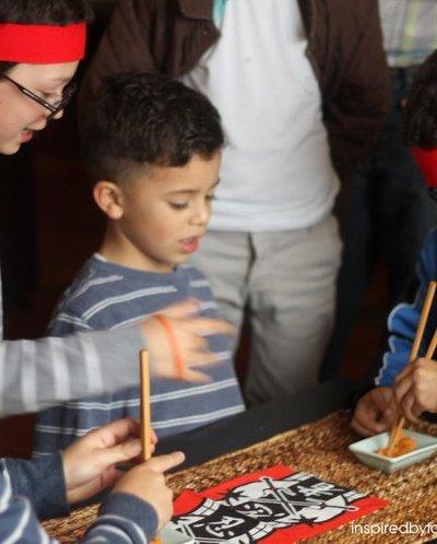 Ninja Party Fun: Decor, Games and Food