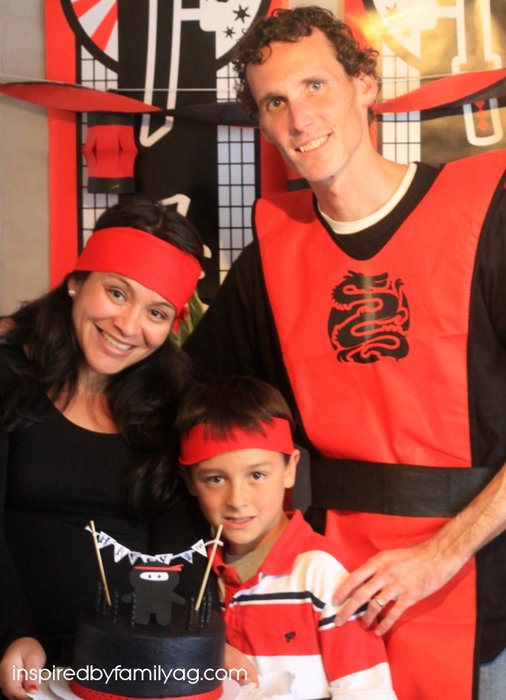 ninja party fun