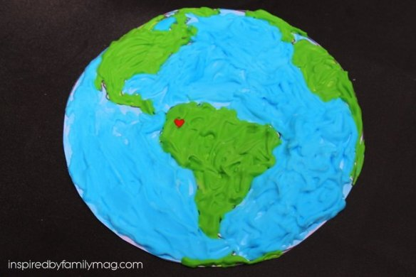 earth day activity for toddlers