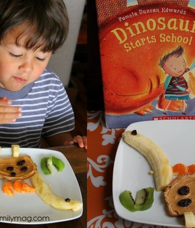 Healthy Fun Snack for Kids: Dinosaur