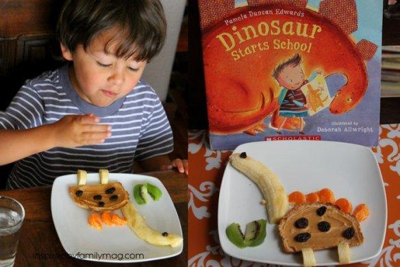 dinosaur snack