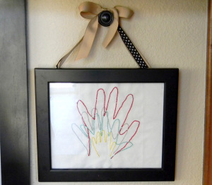 handprints for mom