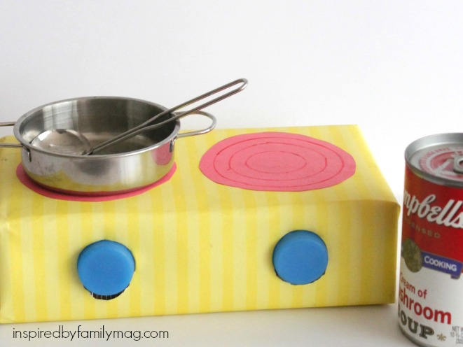 pretend play stove top