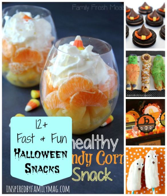 fast and fun halloween snacks