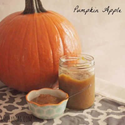 Fall Snack: Pumpkin Apple Sauce Crockpot Recipe