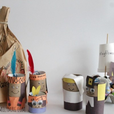 Toilet Paper Tube Pilgrims Craft