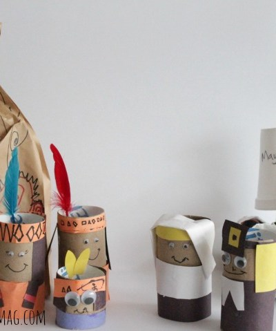 Toilet Paper Tube Pilgrims Craft