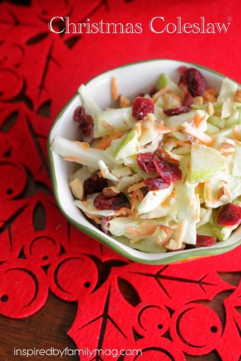 christmas coleslaw recipe