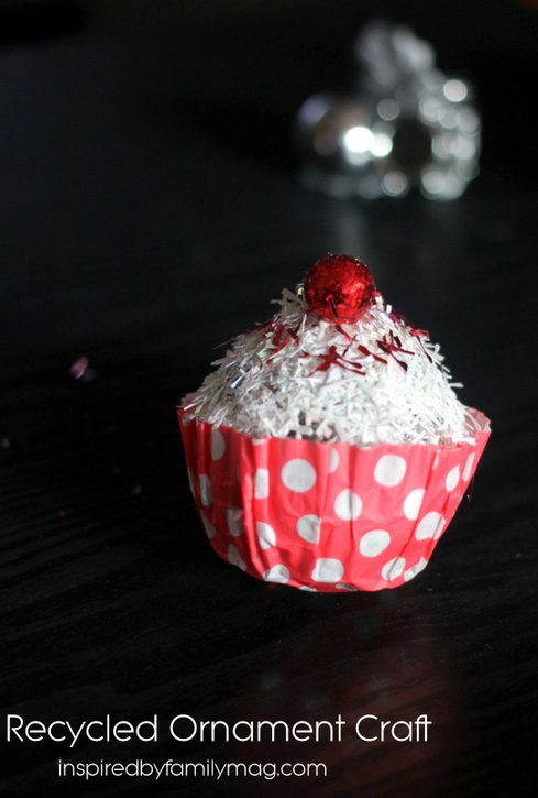 cupcake ornament craft