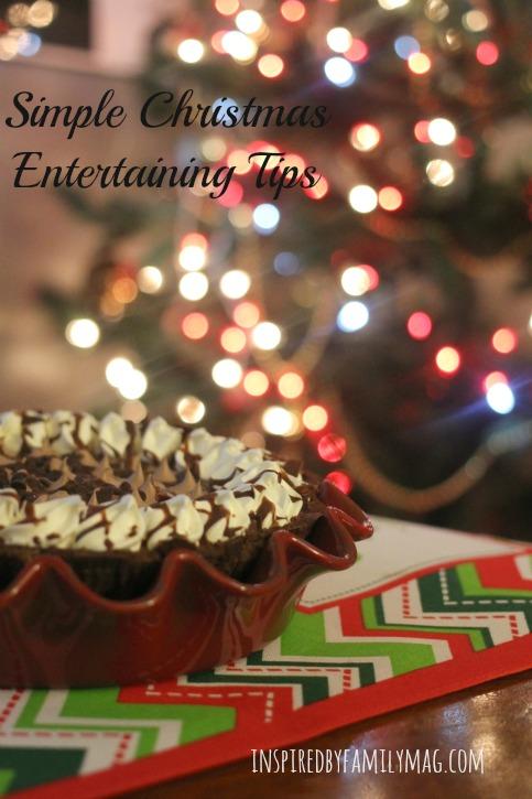 christmas entertaining tips