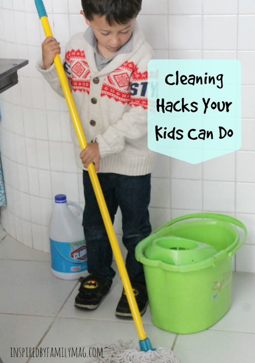 cleaning hacks for kids1